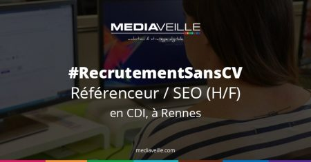 #Job offer Hello les #SEO, on recrute sans CV ! Tu cherches un job à #Rennes ? C...