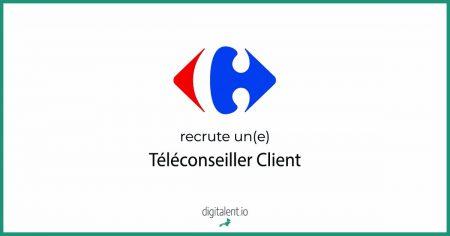 Carefour recherche un(e) Téléconseiller Client Envoyer votre CV !    #Emploi #Jo...
