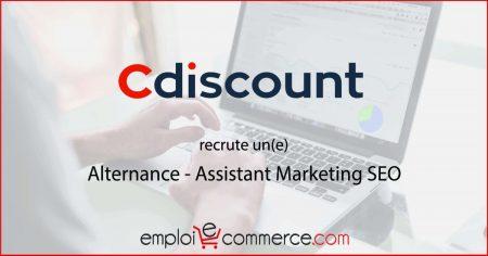 . Cdiscount recrute un(e) Assistant Marketing SEO en Alternance Venez découvrir ...