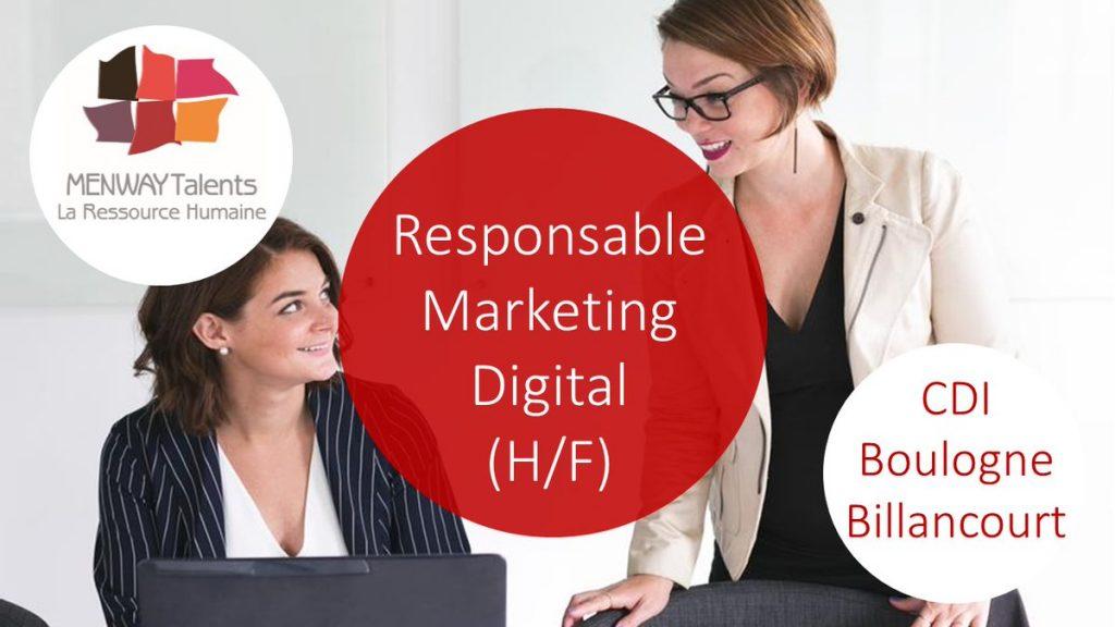 [Cette semaine...#ONRECRUTE !] \ Un Responsable #Marketing #Digital (H/F) à #Bo...