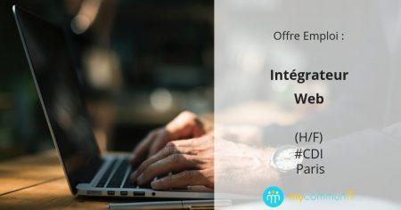 : #emploi On recherche : un(e) Intégrateur web (H/F) en #CDI sur Paris !  Vous ...