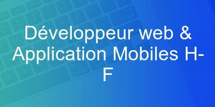 Immobilière 3F recrute un Développeur web & Application Mobiles H/F avec Hunteed...