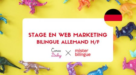 #JOB #OFFER #STAGE Stage en web marketing bilingue allemand F/H pour @consobaby ...