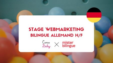 #JOB #OFFER Stage webmarketing bilingue allemand F/H pour @consobaby  #recruteme...