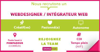 ***JOB*** Webdesigner / Intégrateur web H/F Rejoignez une équipe passionnée et d...