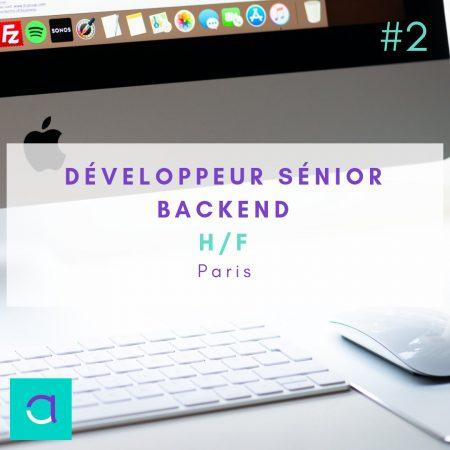 N'hésitez pas à postuler à notre offre de Développeur Senior Backend(H/F) dans ...