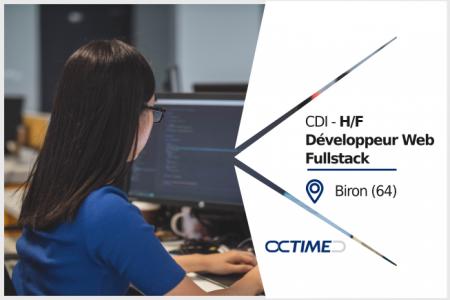 Octime recrute - CDI (H/F) Développeur Web Full Stack, dans un cadre de travail ...