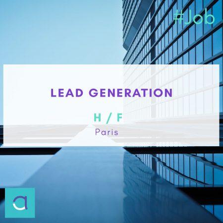 OFFRE #EMPLOI : Ne manquez pas notre offre de #Lead  #Generation (H/F) à #Paris...