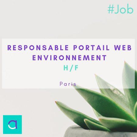 OFFRE #EMPLOI : nous vous proposons un poste de Responsable Portails #Web - (H/F...