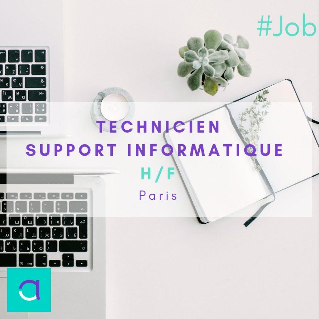OFFRE #EMPLOI : Nous vous proposons un poste de Technicien Support Informatique ...