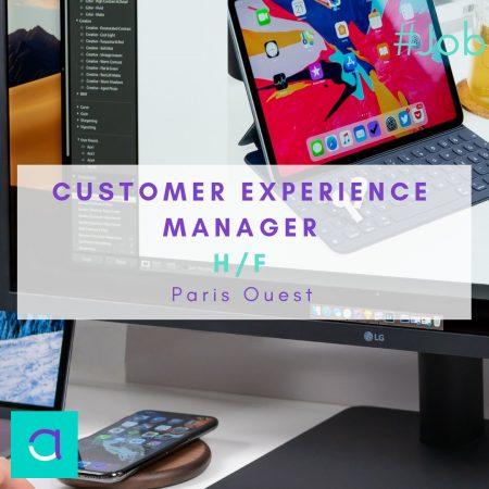 OFFRE #EMPLOI : Une toute nouvelle offre de #Customer experience #manager (H/F) ...
