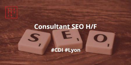 [#Recrutement] Consultant #SEO H/F : Travailler en équipe avec le souci du détai...