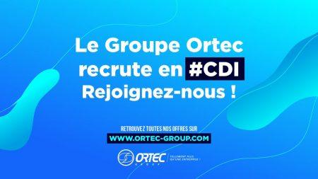 Rejoignez dès maintenant la Team Ortec !  Le groupe recrute en #CDI un #Ingénieu...