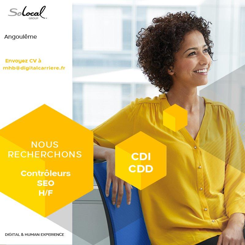 SoLocal Marketing Services recherche des Contrôleurs SEO (H/F) pour la Web Facto...