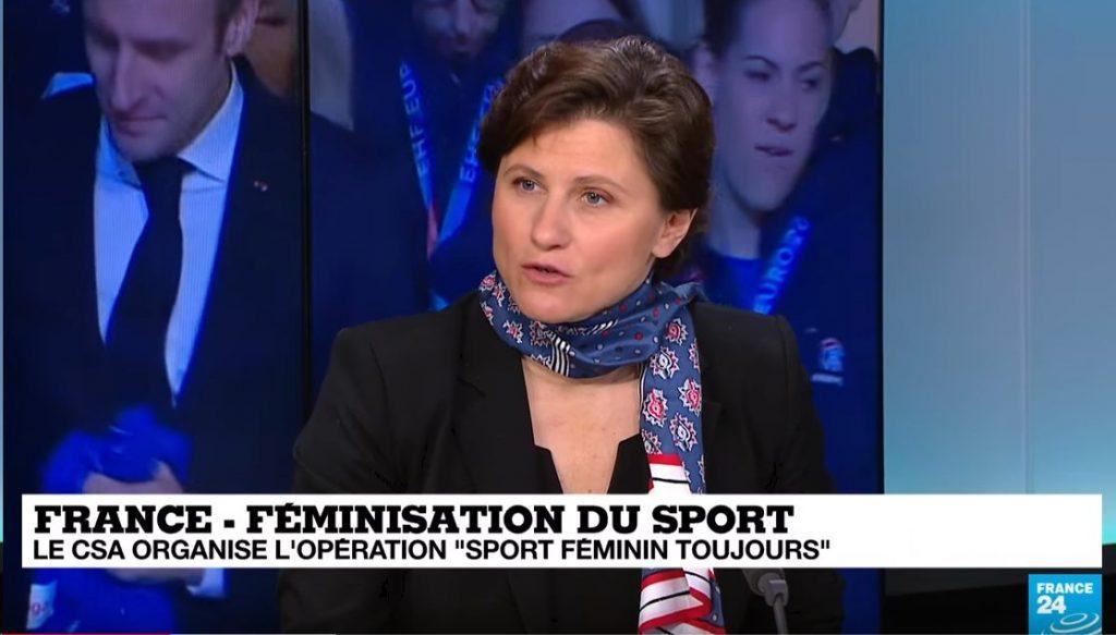 #SportFemininToujours | Selon @RoxaMaracineanu, en termes de pratique la parité ...