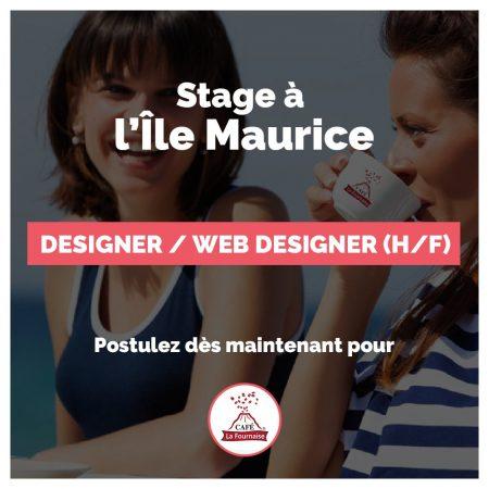 [#STAGE] Designer / Web Designer (H/F)  Riche-Terre, Île Maurice  Participer à l...