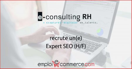 Vous cherchez un poste d'Expert SEO ? E-Consulting RH recherche un candidat   #C...