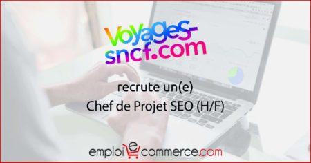 Voyages-Sncf recrute un(e) Chef de Projet SEO  Venez découvrir l'offre   #Emploi...
